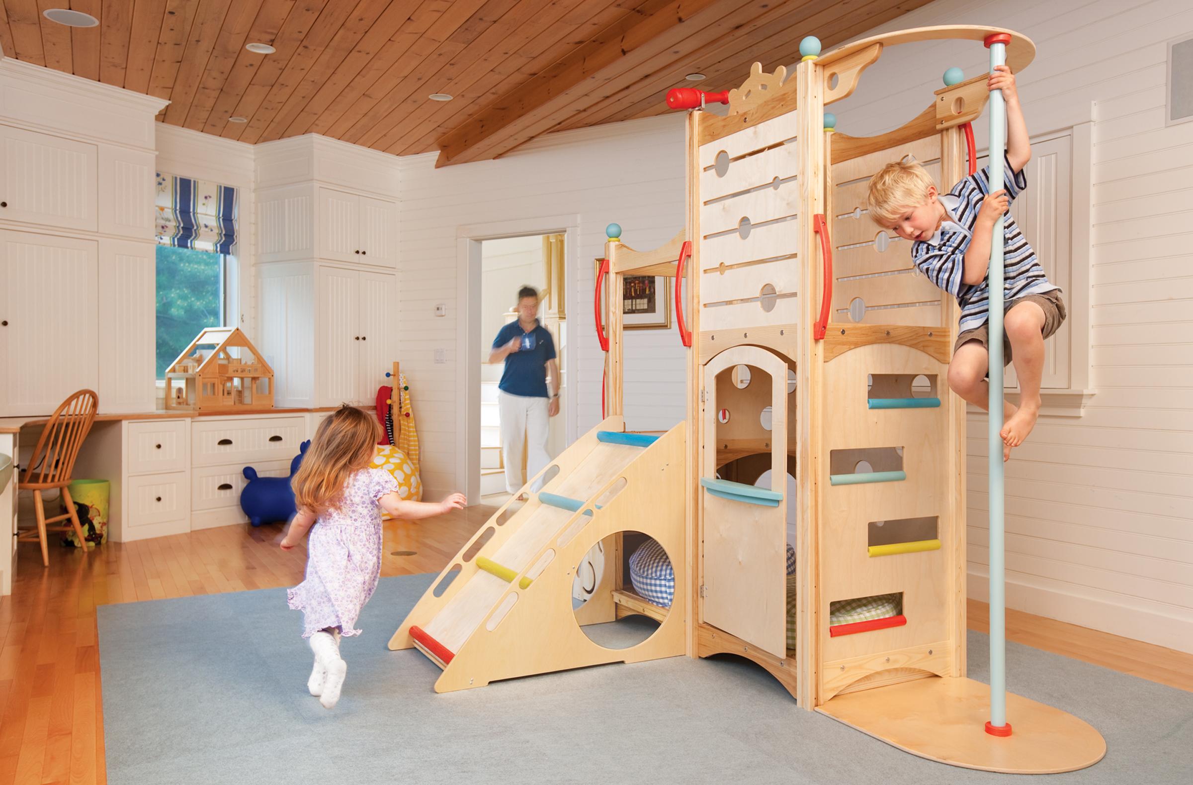 Детский комплекс в квартире своими руками 294